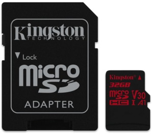 Kingston Canvas React microSDHC 32 GB