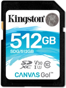 Kingston Canvas Go 512GB SDXC