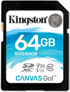 Kingston Canvas Go 64GB SDXC