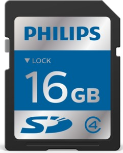 Philips 16GB SDHC Memory Card