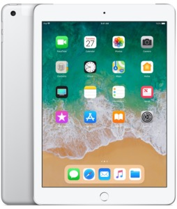 iPad Apple WiFi+Cell 32 GB, plata