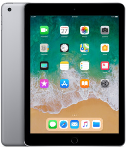 Apple iPad WiFi 128 GB spacegrau
