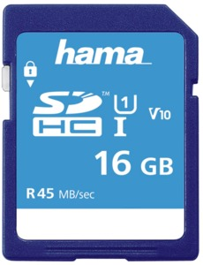 Hama Memory Plus 16GB SDHC Card