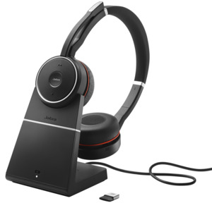 Micro-casque+base Jabra Evolve 75 UC