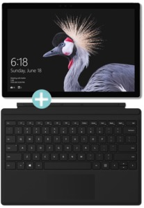 Microsoft Surface Pro 256GB + Type Cover