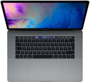 Apple MacBook Pro 15 512 GB szary