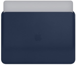 Apple MacBook Pro 13 Leather Sleeve Blue