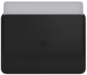 Apple MacBook Pro 13 Leather Sleeve Bl.