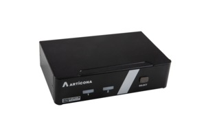 ARTICONA KVM Switch 2-port DP+USB