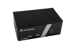 ARTICONA KVM-Switch DVI-I DualHead 2Port