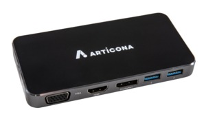 ARTICONA USB-C Docking, HDMI/VGA/DP