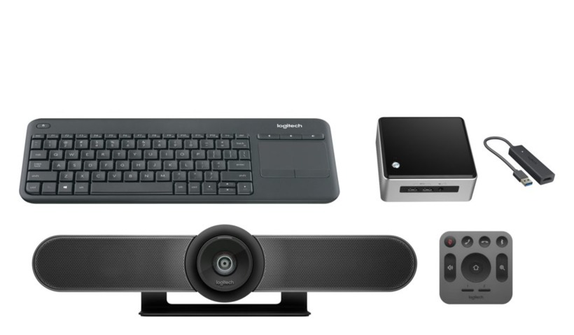Buy Logitech MeetUp Kit with Intel NUC (NUC/MU/UK/1)
