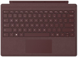 MS Surface Go Sign Type Cover Burgundy