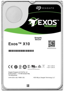 Seagate Exos X10 HDDs