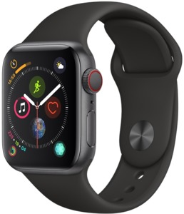 Apple Watch S4 Cell 40mm spacegrau