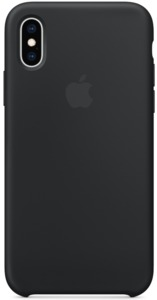 Apple iPhone XS Max Silicone Case Black