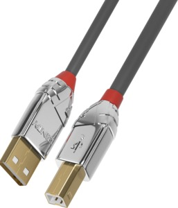 Cable USB 2.0 A/m-B/m 3m Anthracite