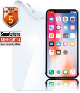 Hama iPhone XS Crystal Displayschutz