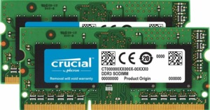 Crucial 16GB (2x 8GB) DDR3 1600MHz Kit