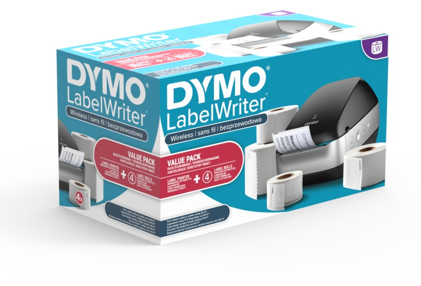Buy Dymo LabelWriter Wireless Black Bundle (2076101)