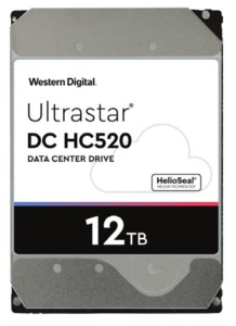 Western Digital DC HC520 12 TB HDD