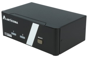 ARTICONA KVM Switch 2-port DP DualHead