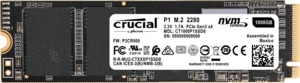 Crucial P1 interne M.2 PCIe NVMe SSDs