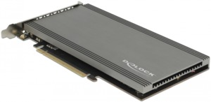 Delock PCIe to 2x NVMe M.2 Interface