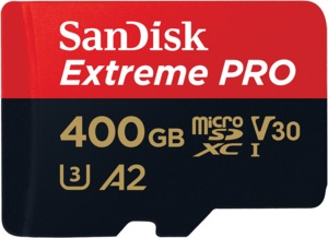 SanDisk Extreme Pro A2 microSD