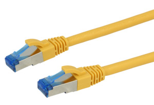 Patch Cable Cat.6A Superflex 10m Yellow