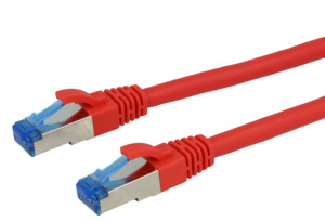 Patch Cable Cat.6A Superflex 10m Red