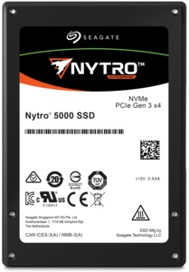 Seagate Nytro 5000 PCIe NVMe SSDs