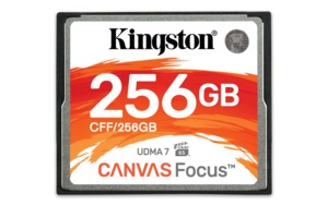 Kingston Canvas Focus CF-Karten