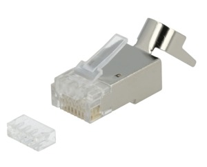 Connector RJ45 Male Cat6a STP 50-pack