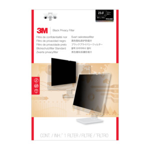 3M PF23.0W9 Black 58.4cm Privacy Filter