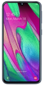 Samsung Galaxy A40 Enterprise Edition