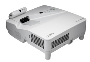 NEC U and UM Ultra-short-throw Projector