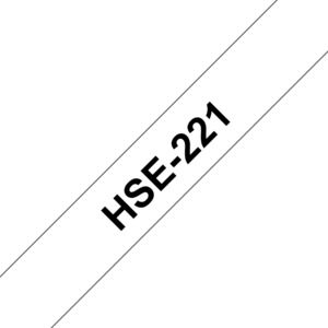 Brother HSe-221 White 8.8mm