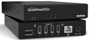 Matrox QuadHead2Go Series Multi-Display Controller