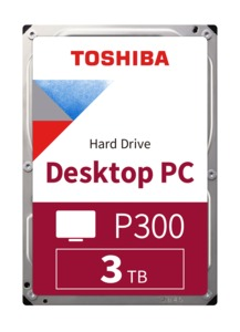 Toshiba P300 3TB Desktop PC HDD