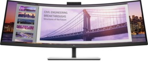 HP S430c Curved Monitor