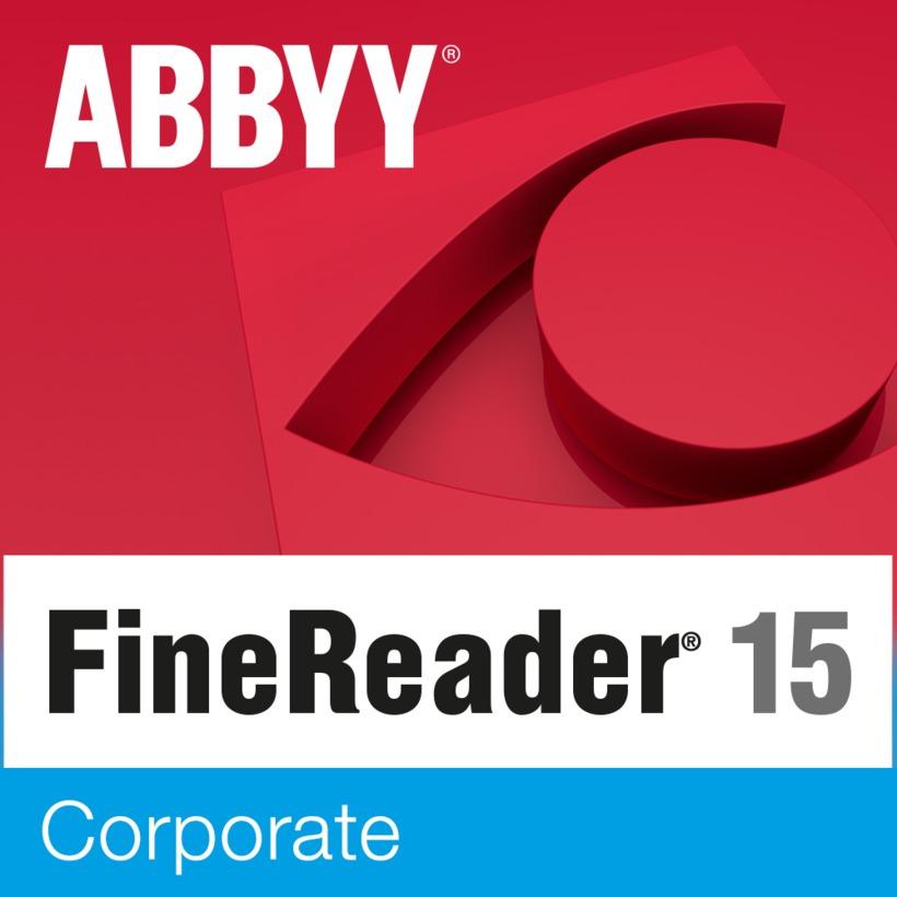 Resultado de imagen para ABBYY FineReader Corporate 15