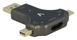 ARTCONA DP/Mini-DP/USB - HDMI Adapter