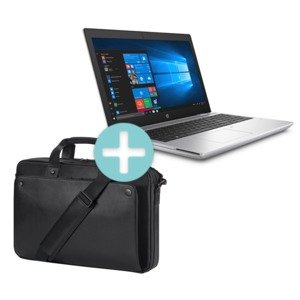 HP ProBook 650 G5 + Leather Bag
