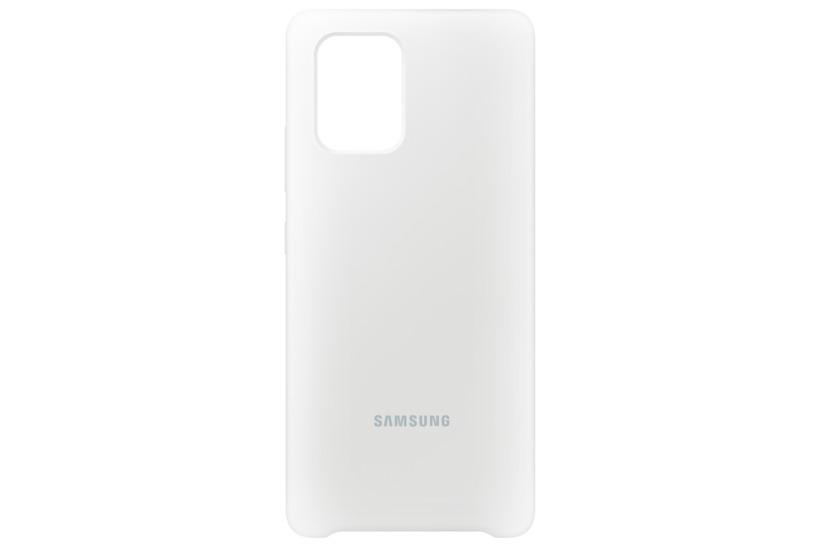 Buy Samsung S10 Lite Silicone Cover White Ef Pg770twegeu