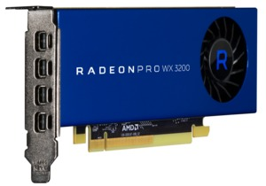 AMD Radeon Pro WX Video Card