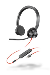 Headset Poly Blackwire 3300