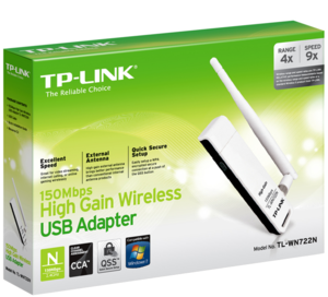 TP-LINK TL-WN722N WLAN USB-Adapter
