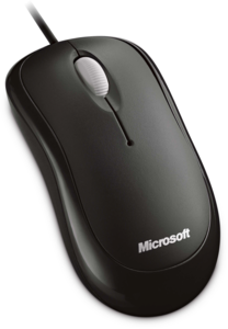 Microsoft Basic Optical Mouse schwarz