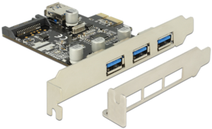 Delock USB 3.0 Interface PCIe x1 LP